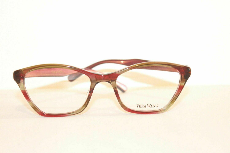 VERA WANG Eyeglasses V364 Aubergine 49-17-130 last One Authentic and New