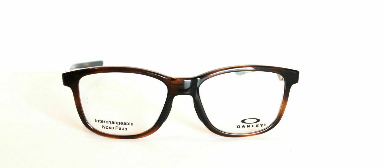 Oakley RX Eyeglasses Cross Step Polished Brown Tortoise 52-16-135 Last Ones