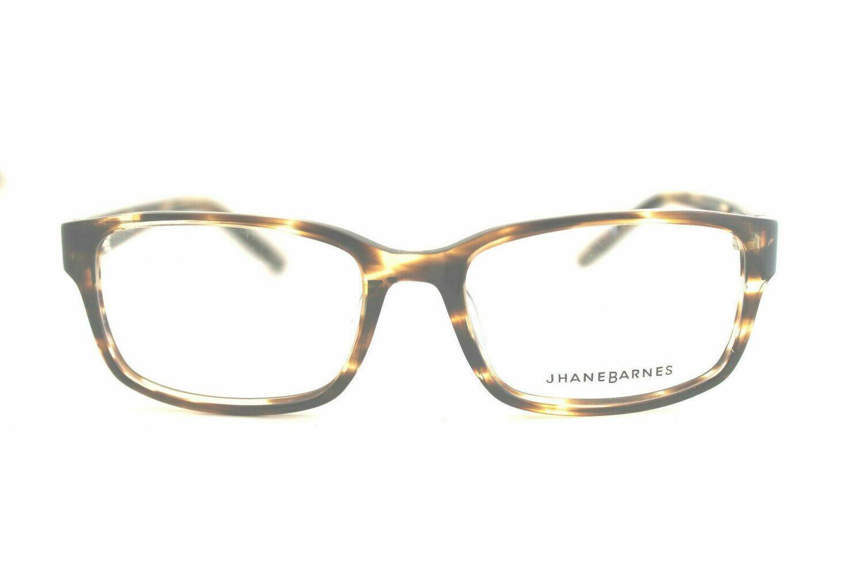 Jhane Barnes Rx Eyeglasses Calculate 54/18/145 Gray Tortoise Frames
