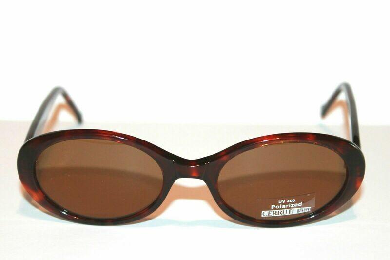 NEW Cerruti 1881 Polarized sunglasses Model 4212 New w/ leather case