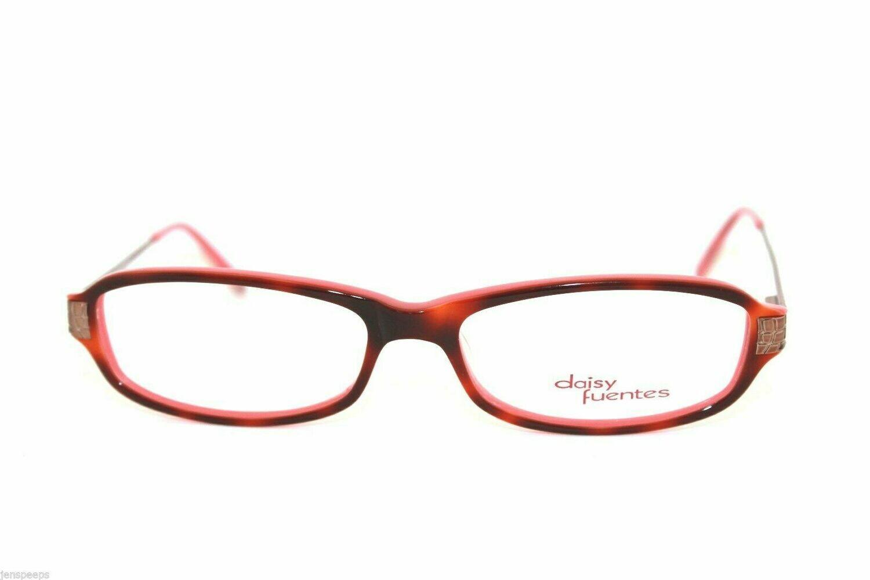 New Authentic Daisy Fuentes Eyeglass frames Annibel in Tortoise Pink eyewear