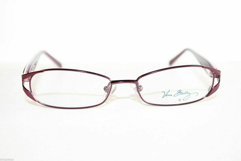 Vera Bradley Taylor Eyeglass Frames Retired Color Boysenberry Girls or womens