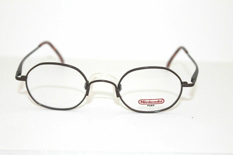 New Vintage Ninteno Flex round eyeglass frame 45-20-130 NF-3023