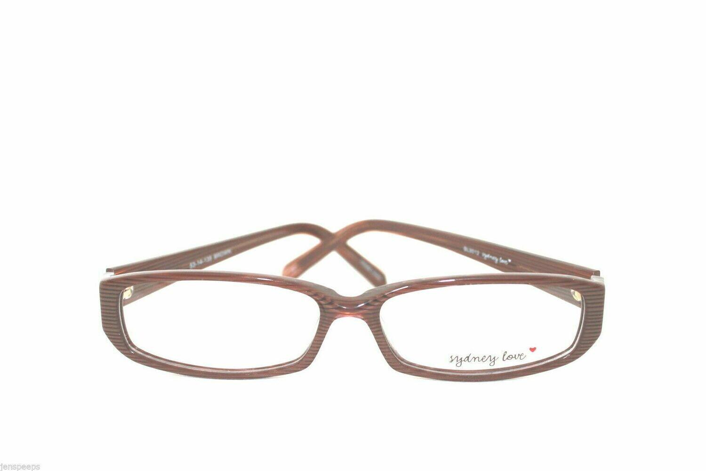 Sydney Love eyeglass frames MODEL SL3012 IN BROWN LAST PAIRS