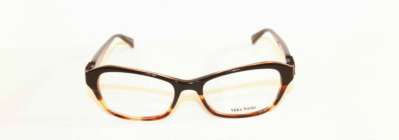 VERA WANG Eyeglasses V338 Black Tortoise 51MM