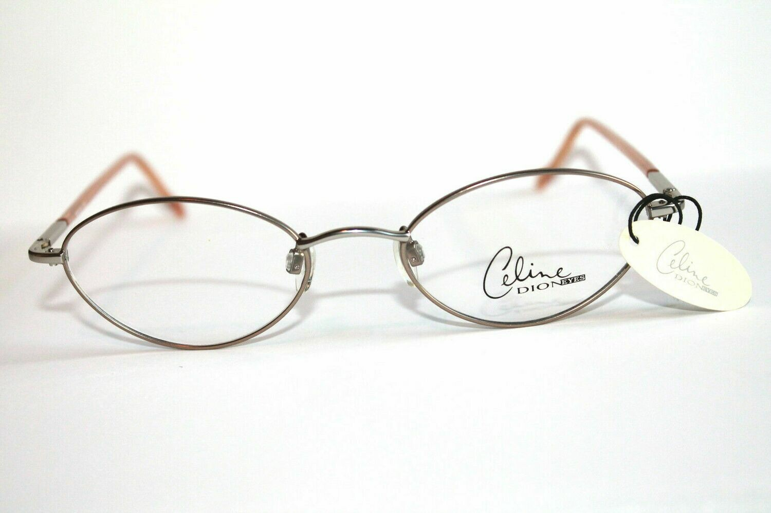 5 Pair Authentic & New Celine Dion eyeglass frames 3 Colors one Style