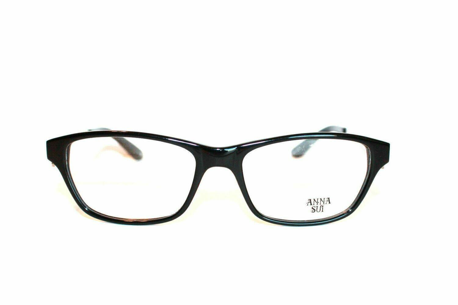 Anna Sui AS537 in Black Glasses Eyewear New and Authentic RX-able 53-16-140