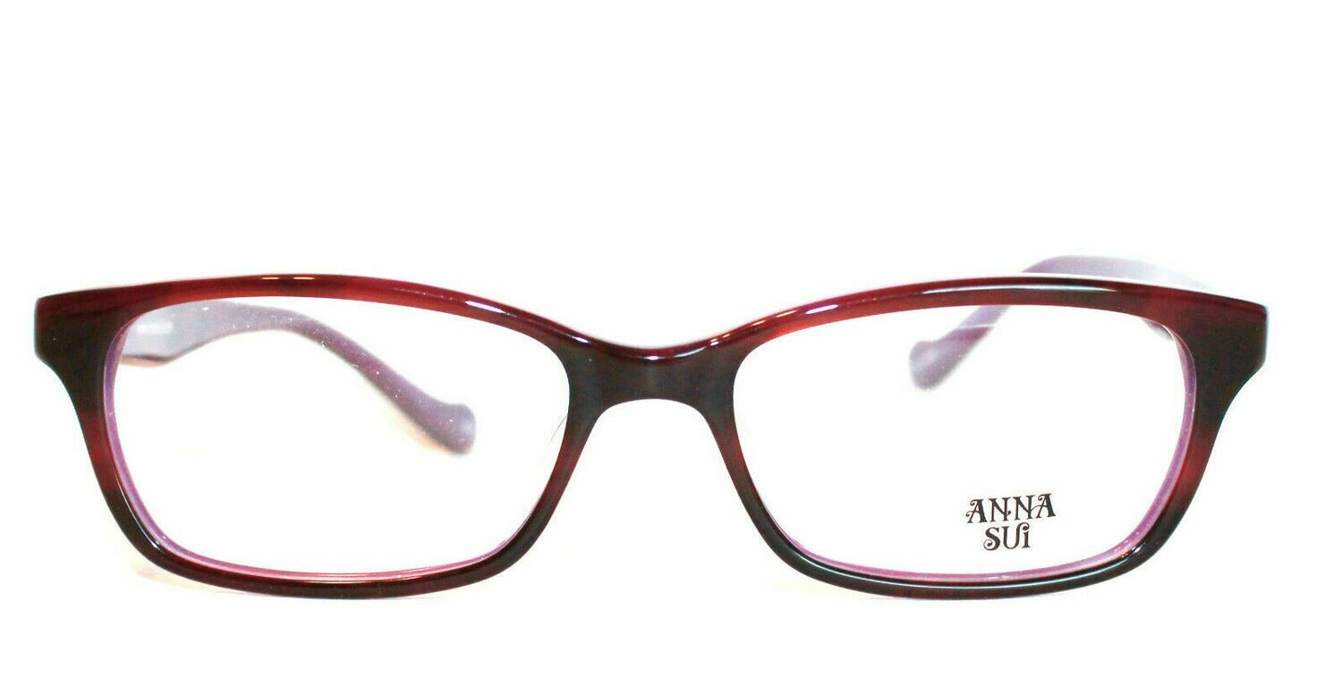 Anna Sui AS 514 798 Glasses Eyewear New and Authentic RX-able Purple
