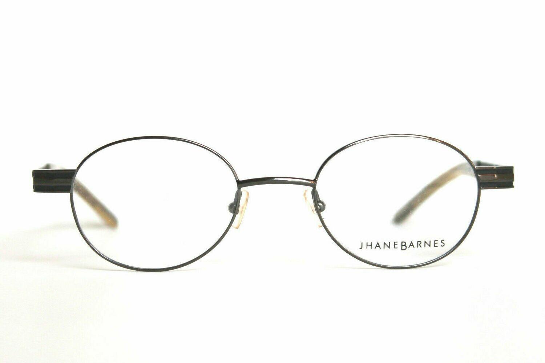 Jhane Barnes Roundabout Rx Eyeglasses New in Gunmetal 48-20-140 RARE