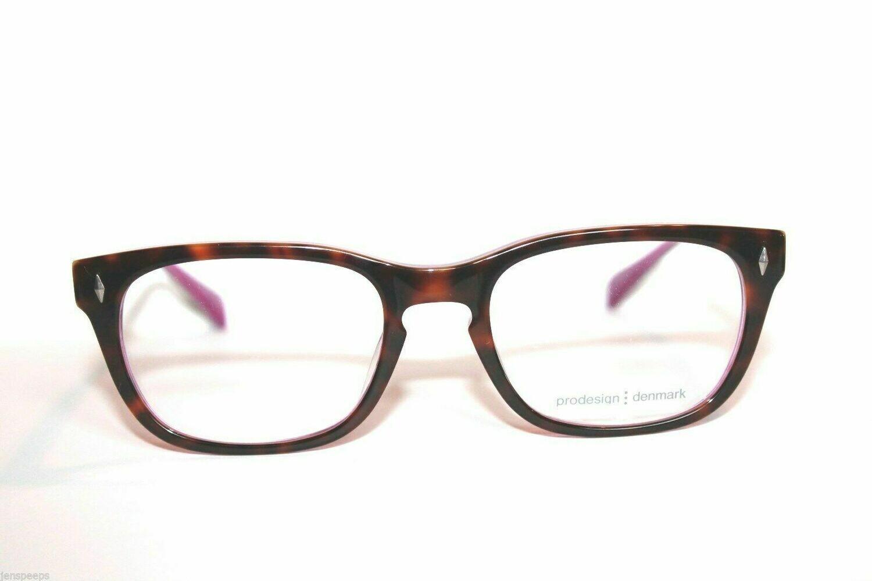 Prodesign Denmark Eyeglasses 4680 Rare with comfort nose pads Tortoise Lav