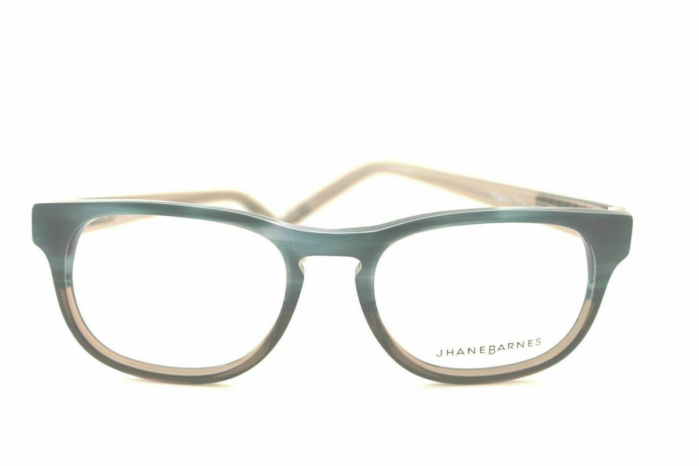 NEW Jhane Barnes Progression Rx Eyeglass Frames in Blue Gradient 51-18-145 RARE