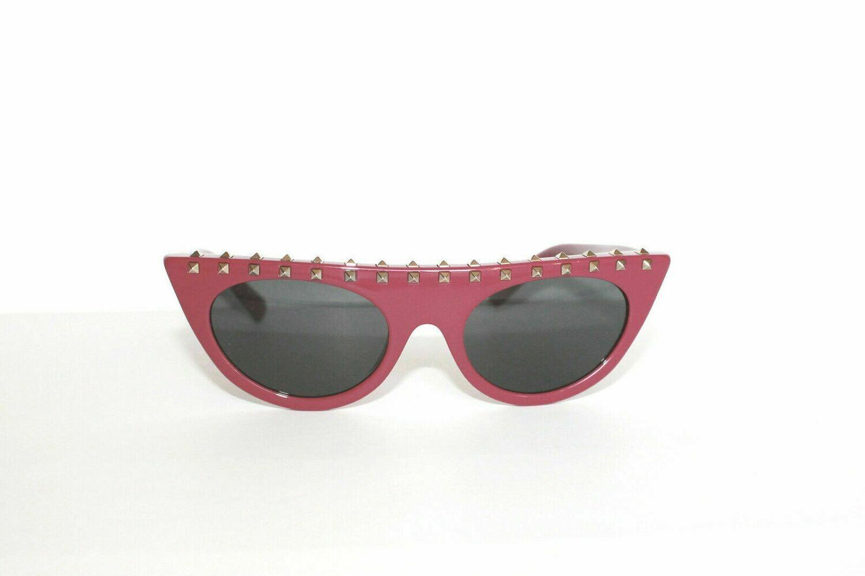 VALENTINO VA 4018 Sunglasses in 5017 Plum 50-19-140 New Authentic