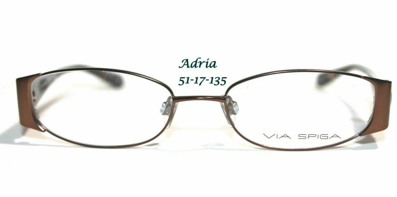 Via Spiga eyeglass frames Model Adria Bassano Cortina Arezzo Serena Your choice