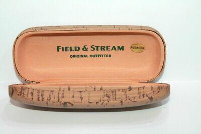 NEW Field & Stream hard eyeglass case Cork