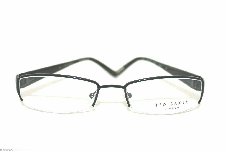 TED BAKER B179 Lavish AUTHENTIC AND NEW Semi Rimless Ebony