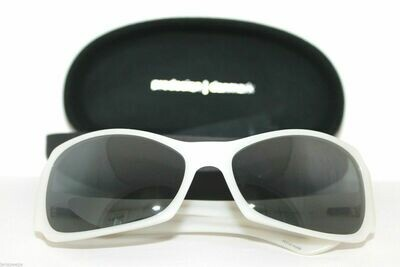 NEW HAND MADE PRODESIGN DENMARK POLARIZED SUNGLASS 8605 COLOR WHITE