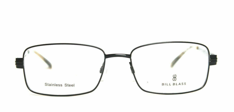 Bill Blass 1011-2 Eyeglass frames Stainless Steel 55-17-140 Black