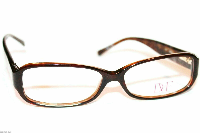 Diane von Furstenberg DVF 5000 Eyewear Eyeglass Frames Womens NEW Brown Shimmer