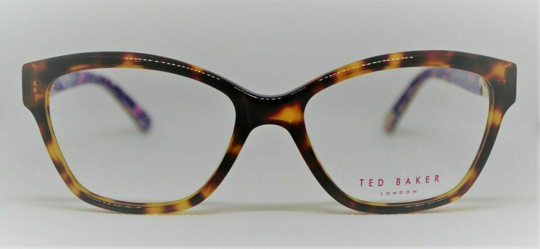TED BAKER B741 in Tortoise eyeglass frames 52-16-140 New Free Case w/FP Purchas