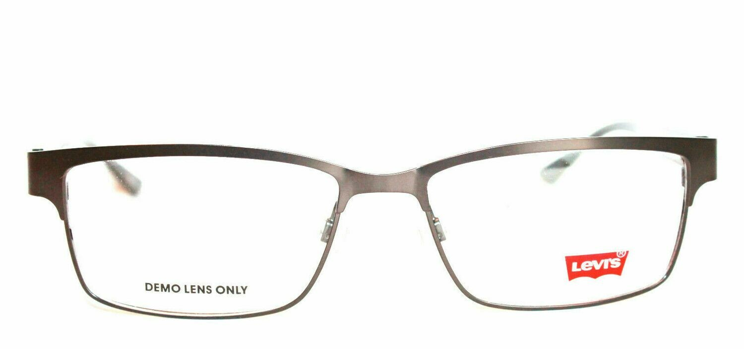 Authentic and New Levi's LS107 eyeglass frame Gunmetal Levi's Case included