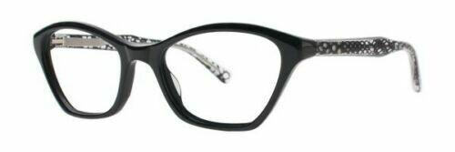 VERA WANG Eyeglasses V364 Black 49-17-130 last One Authentic and New