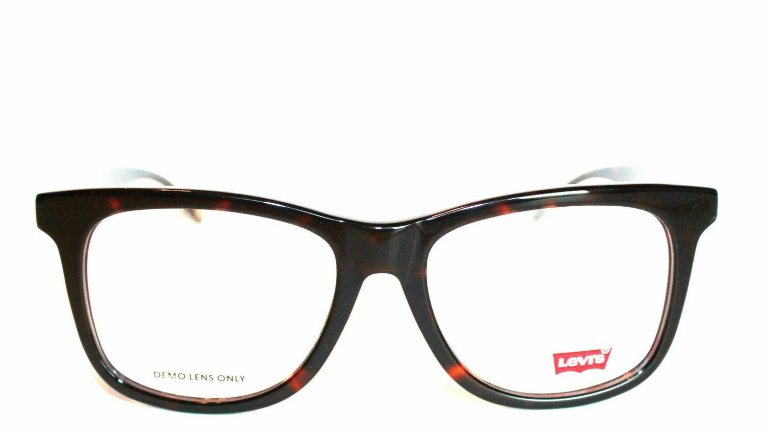 Authentic and New Levi's LS121 eyeglass frame BR Tortoise Levi's Case included