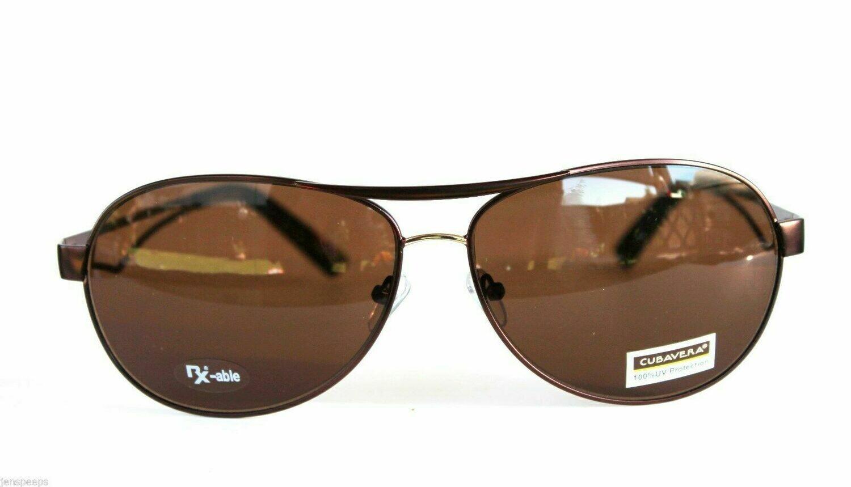Cubavera Sunglasses Model 8000-1 Aviator style Designer suns