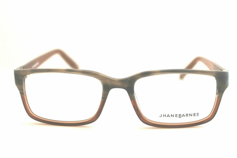 Jhane Barnes Rx Eyeglasses Calculate 52/18/140 Gray Tortoise Frames