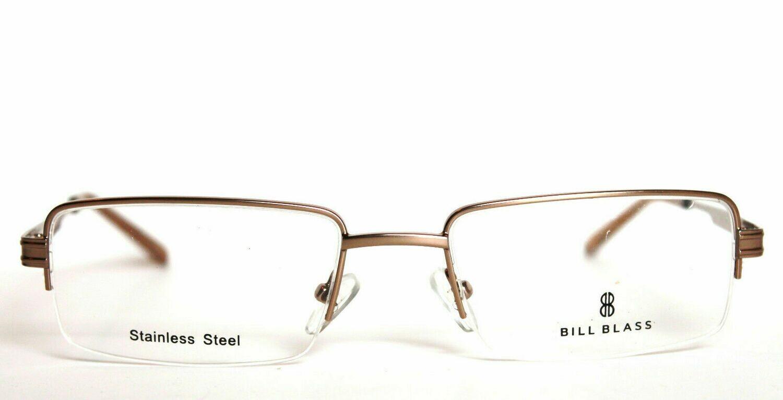 Bill Blass 1013 Eyeglass frames Stainless Steel 53-19-140 Taupe (brown)