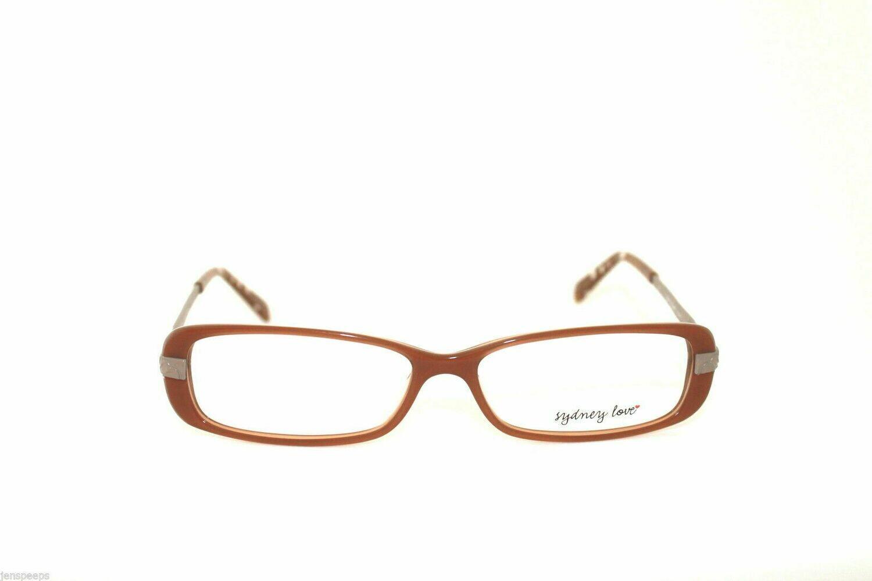 Sydney Love eyeglass frames MODEL SL3001 IN BROWN*LAST PAIRS