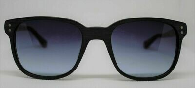 NEW PRODESIGN DENMARK SUNGLASSES Wood look- RARE 8639 Blk/Mint 55-21-145