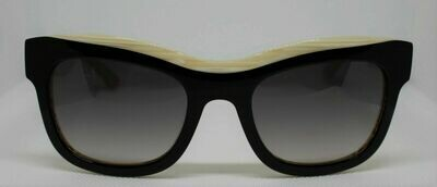 L.A.M.B. LA518 Gwen Stefani's Designer Sunglasses color: BK BONE Case included