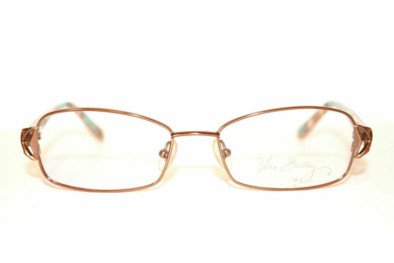 Vera Bradley Madison Eyeglass Frames in Totally Turq 53-17-130 Rare discontinue