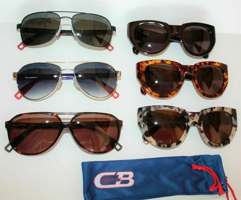7 Pair NEW CBSports Sunglasses Variety of colors, Mens & Women's