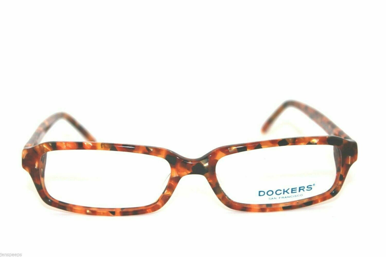 New Authentic Dockers eyeglasses Model DO 184 Tortoise Free case! eyewear