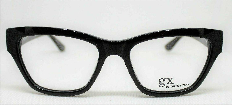 GX011 Gwen Stefani eyeglass frames Black 51-16-135 Last one gx line