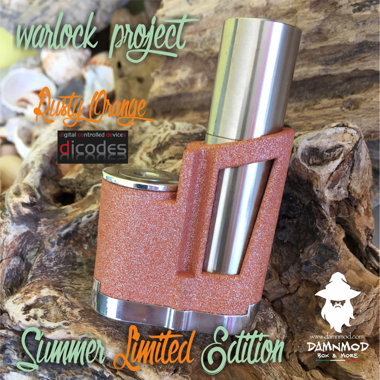 """WARLOCK PROJECT """"SUMMER LIMITED EDITION"""" DICODES BF60 - ALUMIDE"""