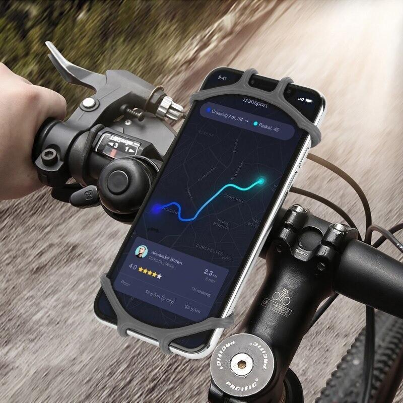 Silikon Fahrrad Telefonhalterung