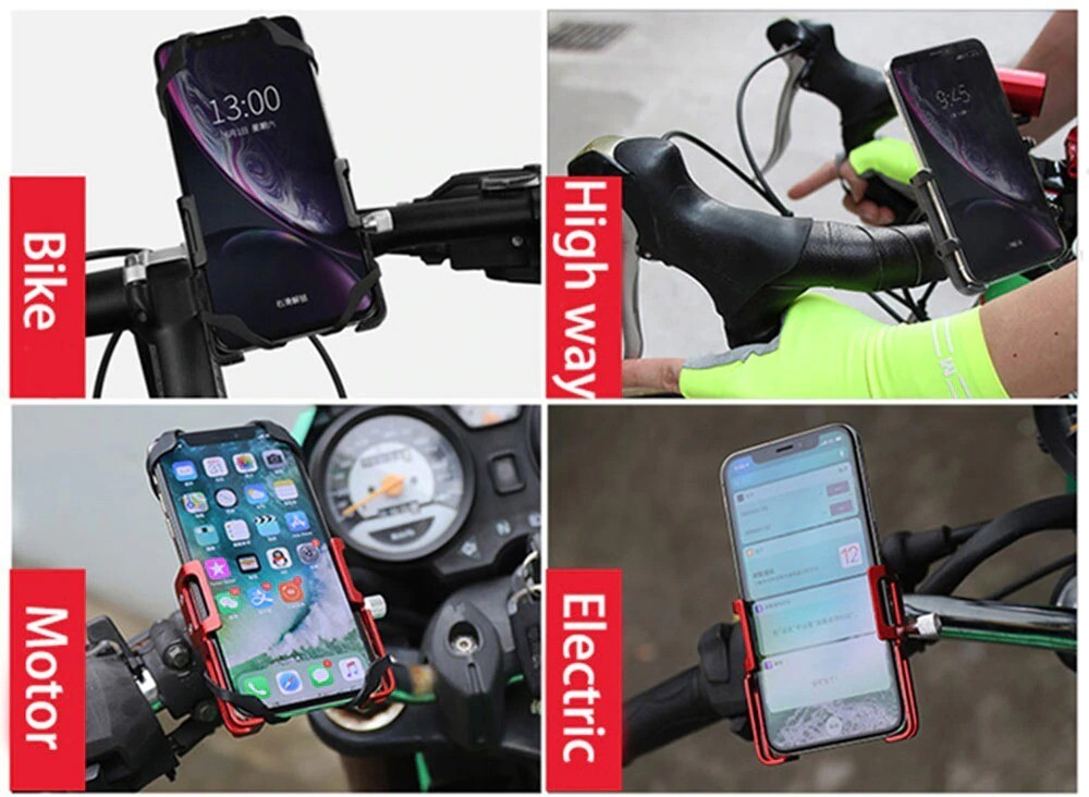 Aluminium Fahrrad Telefonhalterung