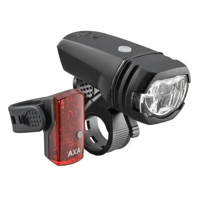 AXA Greenline 50 Verlichtingsset  50 Lux USB