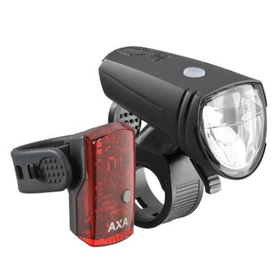 AXA Greenline 25 Verlichtingsset 25 Lux USB