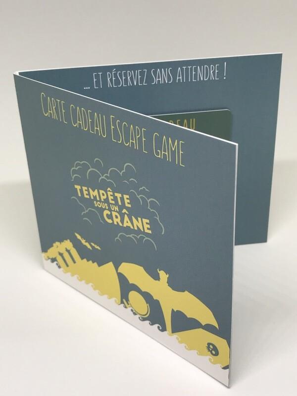 Carte cadeau - 3 joueurs - pochette carton sous cellophane