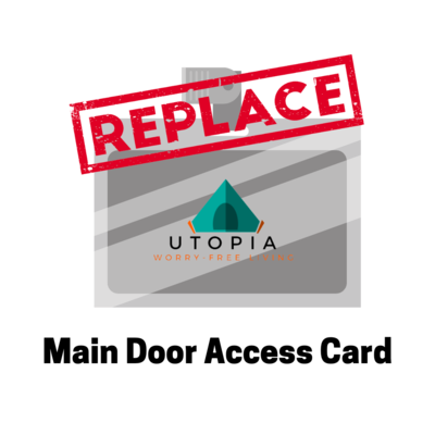Replacement - Main Door Access Card