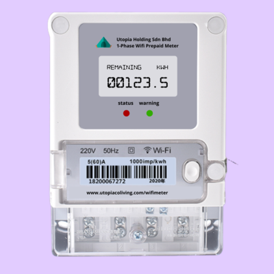 Wifi Prepaid Meter (Basic, Pro, Premium Plan) - Minimum 3 Unit