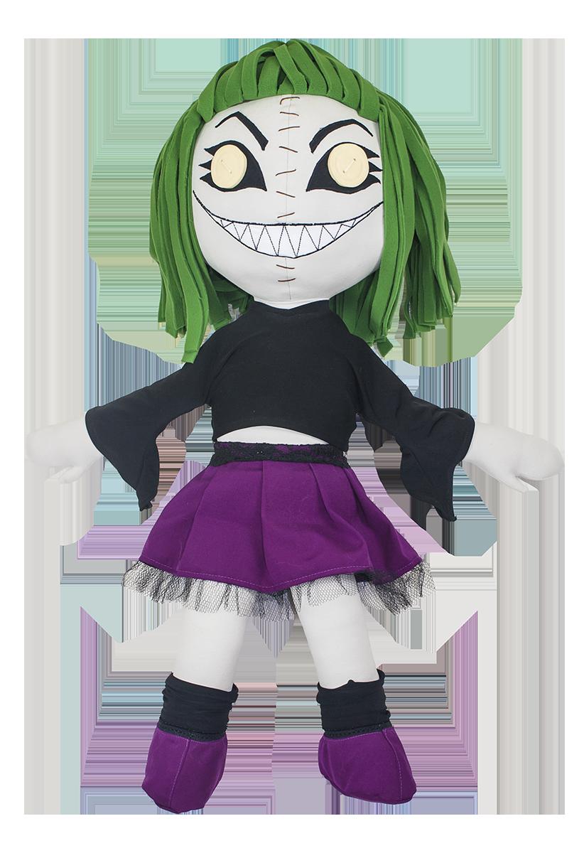 Méga Fobya, la grande poupée de chiffon