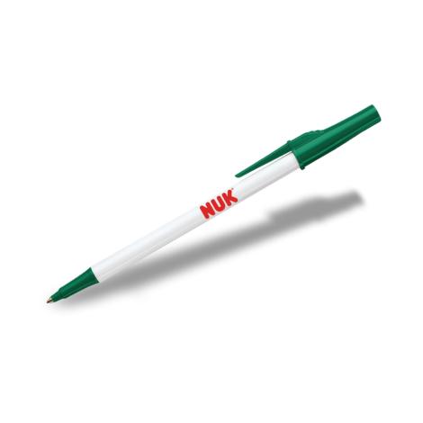 Papermate Write Bros Stick Pen - White Barrel