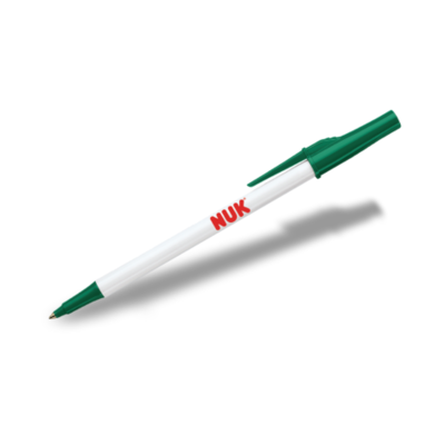 Papermate Write Bros Stick Pen - White Barrel