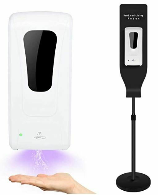 Automatic Touchless Hand Sanitizer Dispenser With Stand