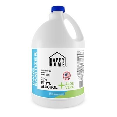 Hand Sanitizer Liquid with Aloe Vera Moisturizer - 1 Gallon