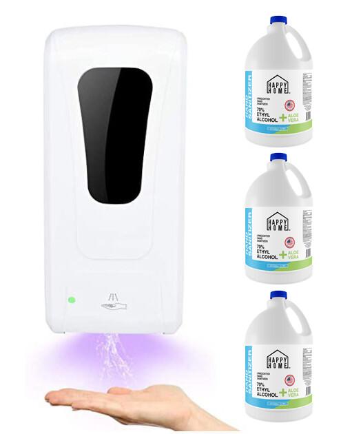 Wall Mounted Hand Sanitizer Dispenser Bundle